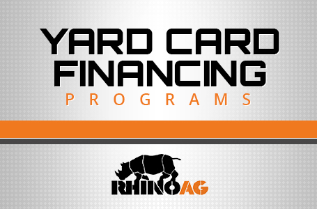 Rhino AG - Yard Card Financing Programs