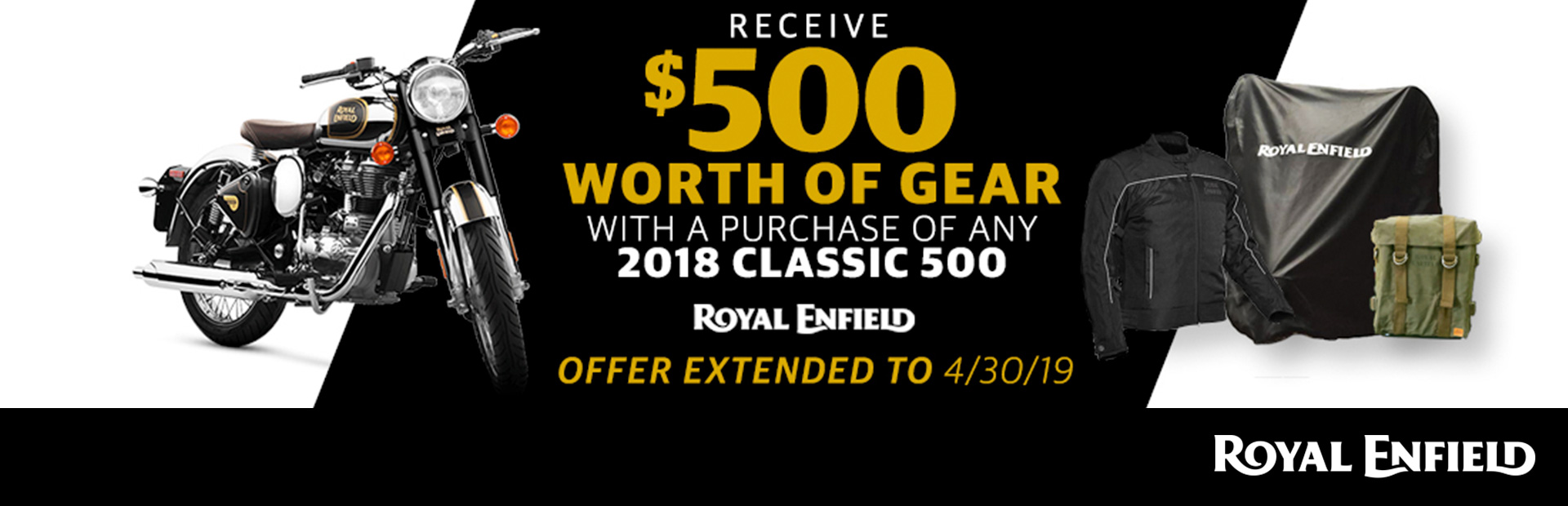 Royal Enfield: Get $500 in Gear and Accessories