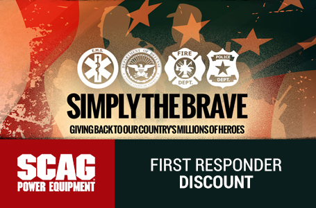 Simply the Brave - First Responder Discount