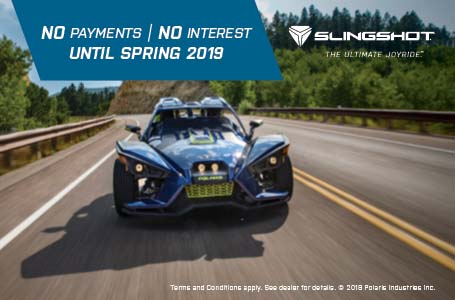 NO PAYMENTS / NO INTEREST UNTIL SPRING 2019