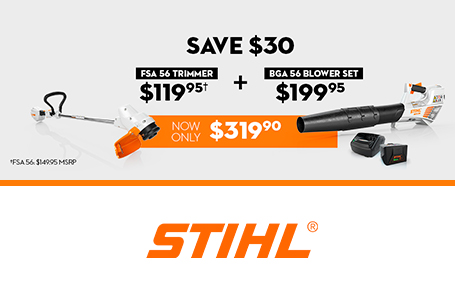 STIHL Dealer Days Are Happening Now!FSA56Trim+BLOW