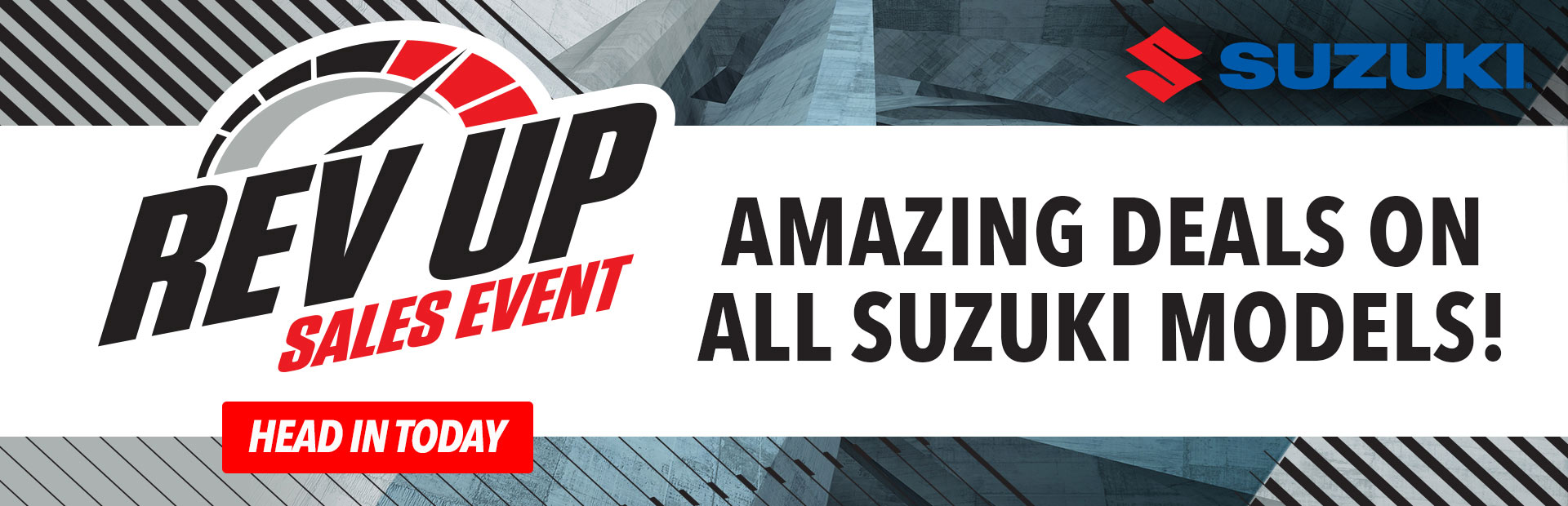 Suzuki: Rev Up Sales Event