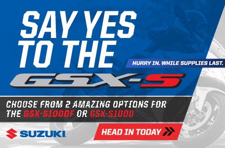 Say Yes to the GSX-S