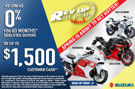 Rev Up for Spring - Sportbike