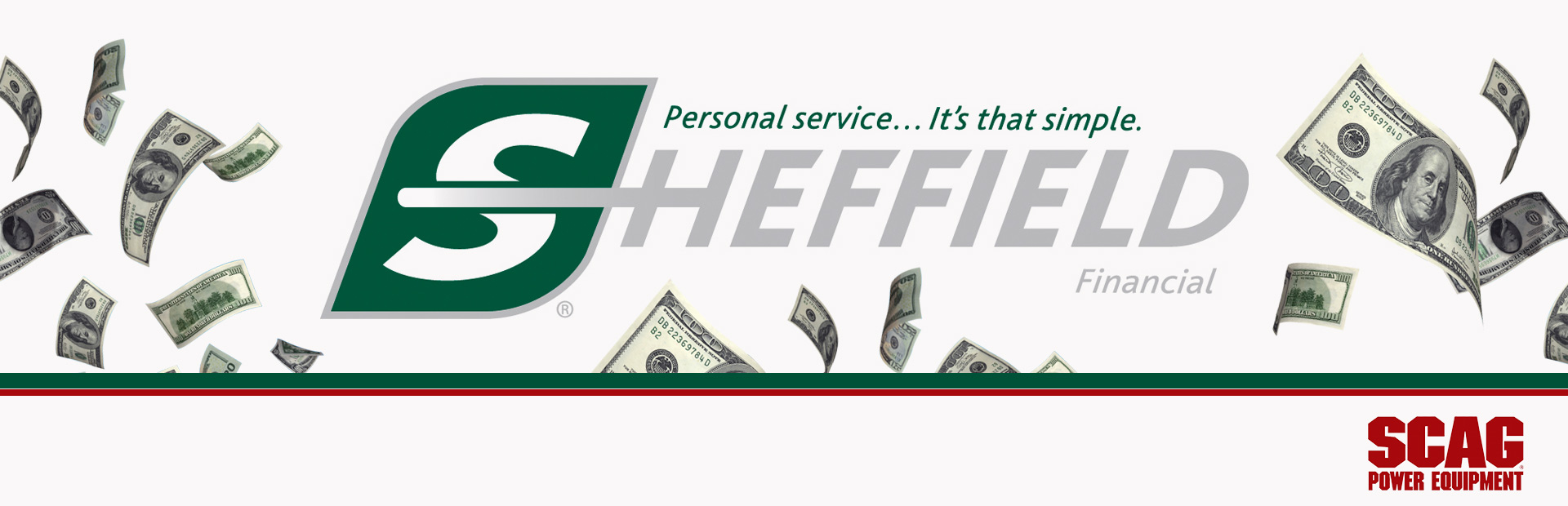 Scag: Sheffield Financing Programs