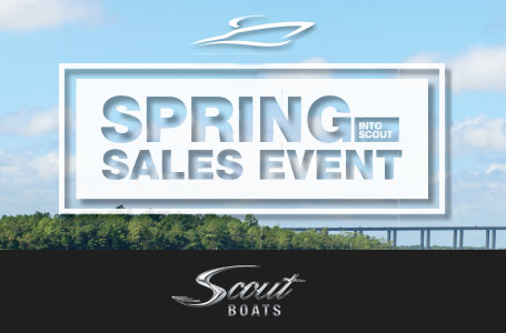 Spring Into Scout Sales Event