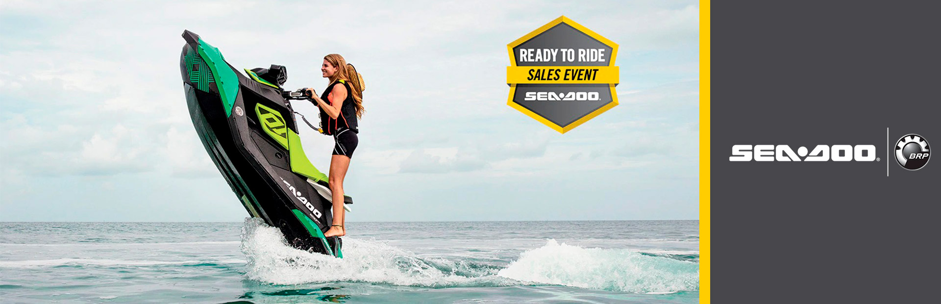 Sea-Doo: READY TO RIDE SALES EVENT SPARK