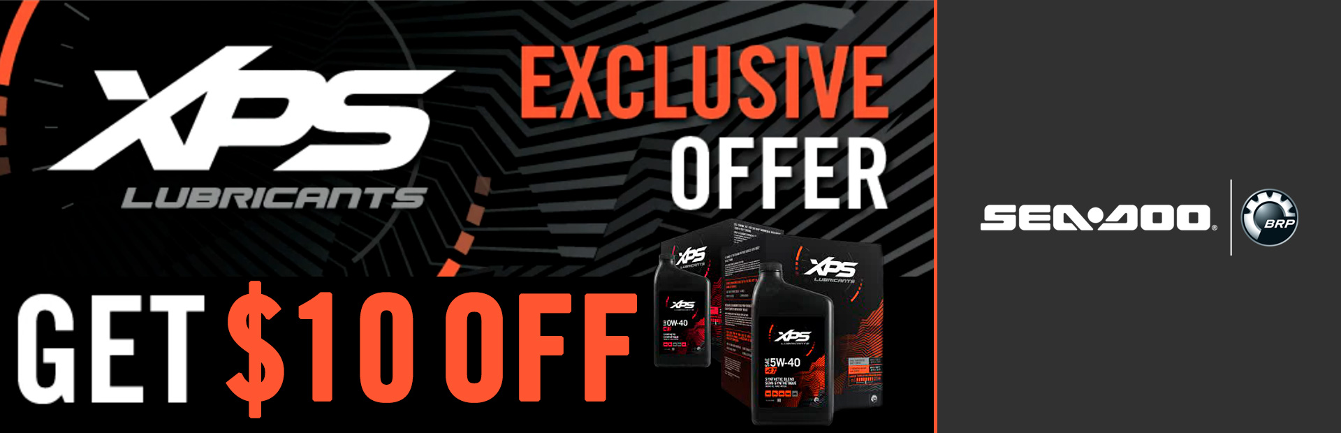 Sea-Doo: XPS Lubricants Exclusive Offer