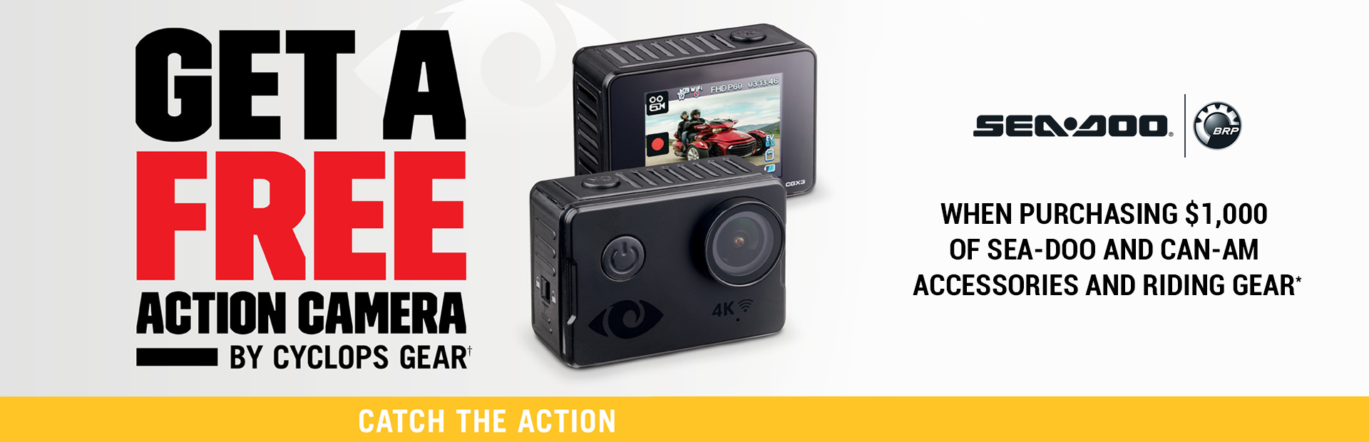 Sea-Doo: Action Camera Promotion