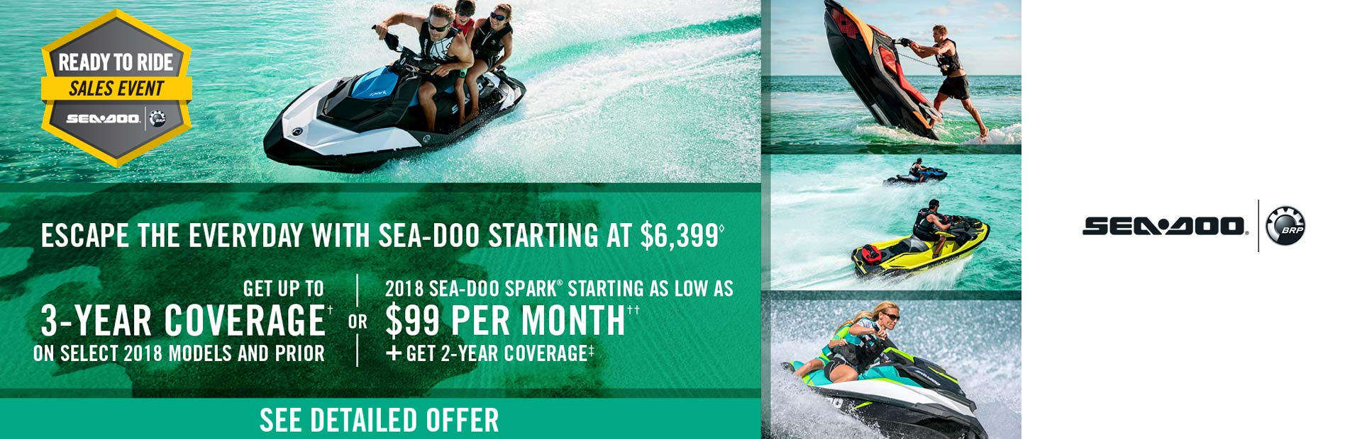 Sea-Doo: Ready to Ride Sales Event