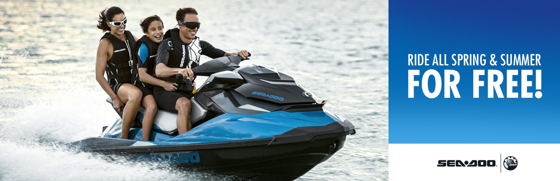 Sea-Doo: Ride All Spring and Summer for Free!