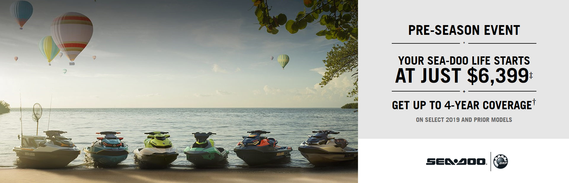 Sea-Doo: Sea-Doo Pre-Season Event