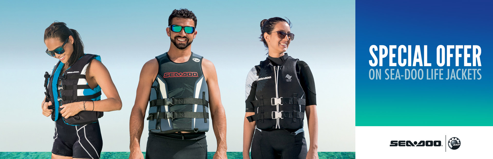 Sea-Doo: Special Offer on Sea-Doo Life Jackets