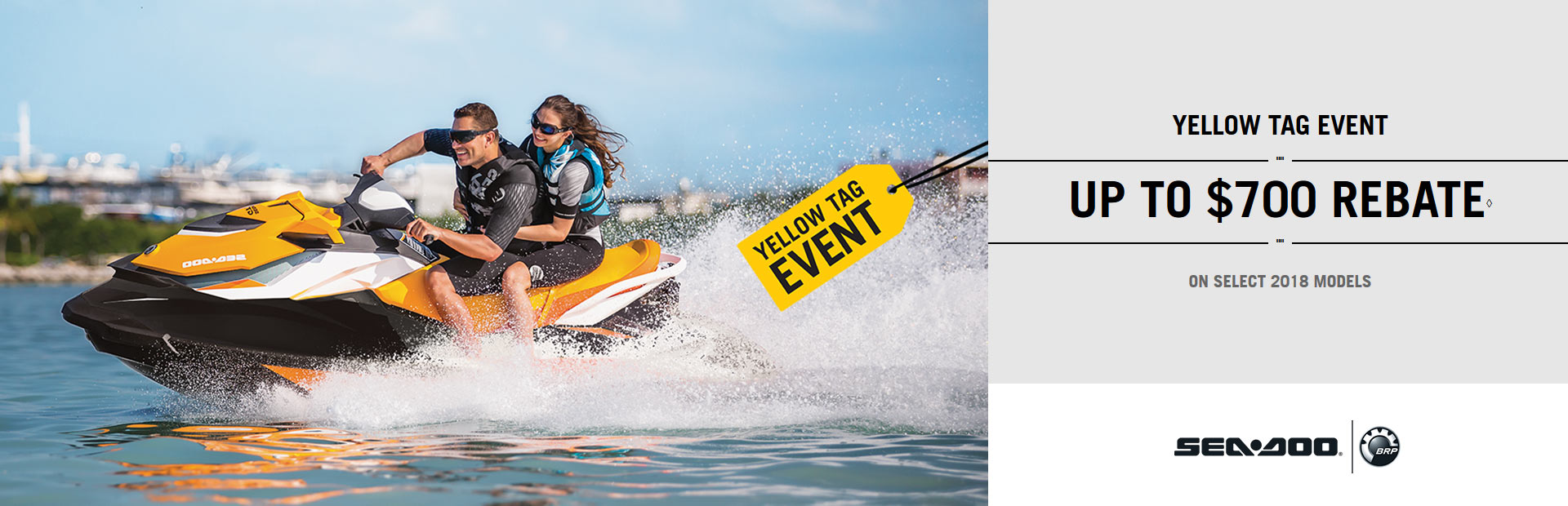 Sea-Doo: Yellow Tag Event