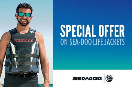 Special Offer on Sea-Doo Life Jackets