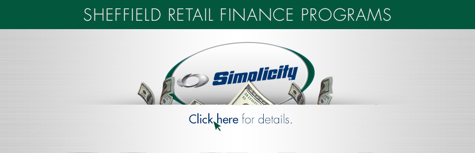 Simplicity: Retail Finance Programs-Sheffield