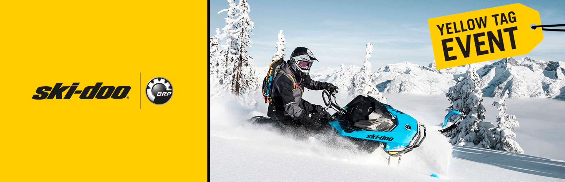 Ski-Doo: YELLOW TAG EVENT