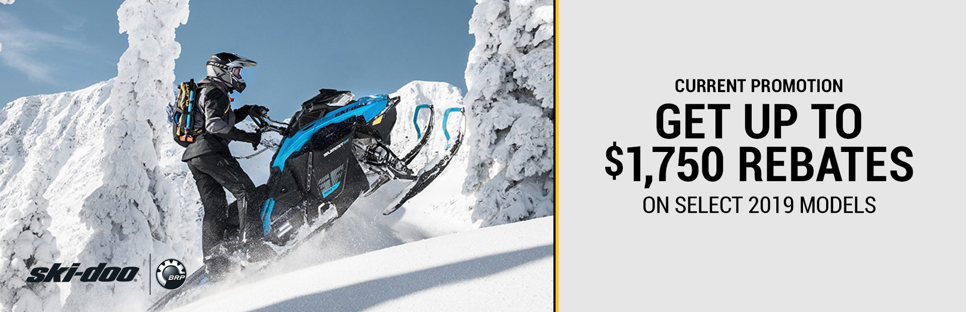 Ski-Doo: Current Promotion
