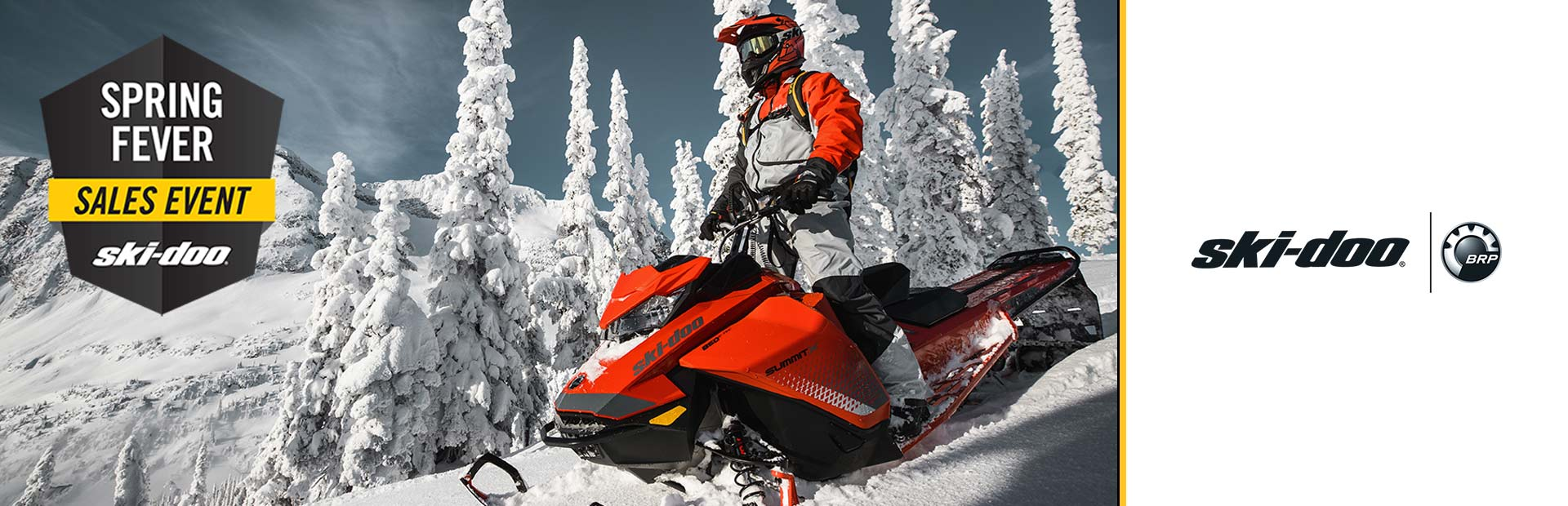 Ski-Doo: Spring Fever Sales Event