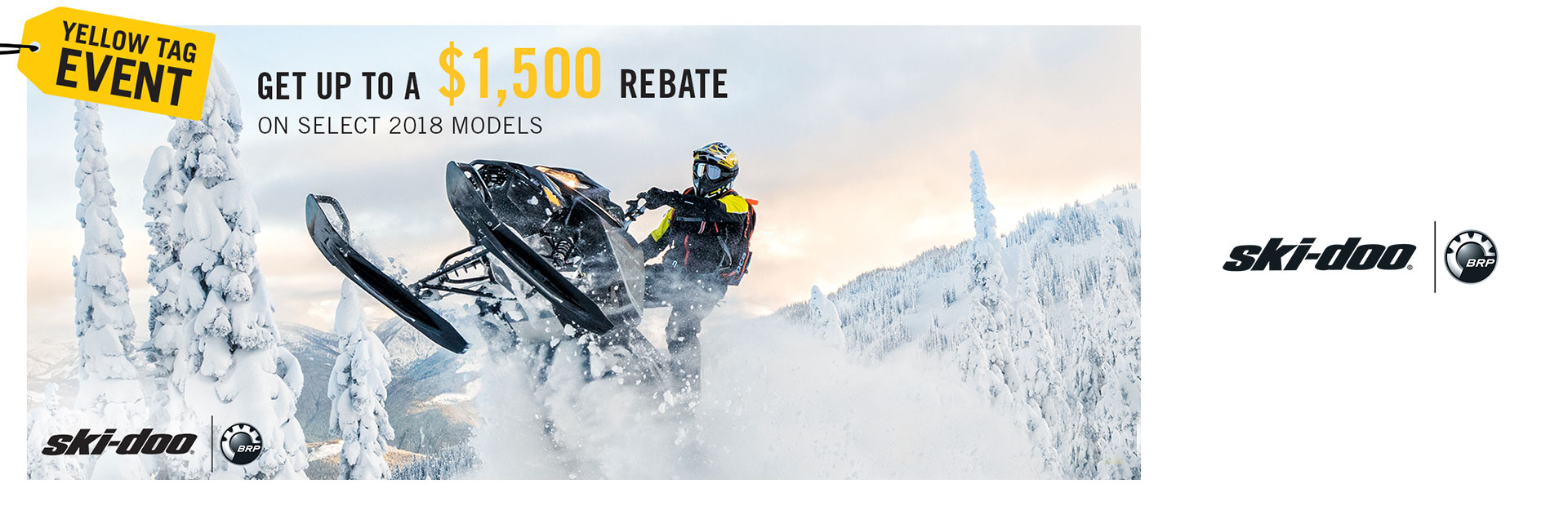 Ski-Doo: Yellow Tag Sales Event