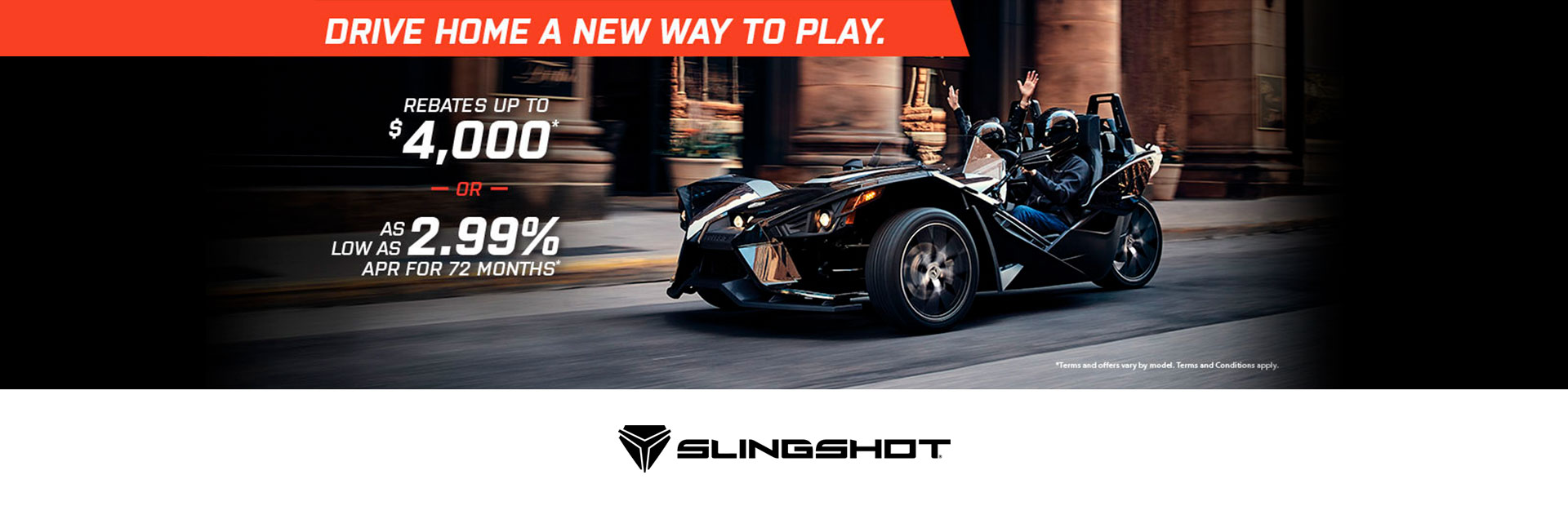 Slingshot: Slingshot - Drive Home A New Way To Play