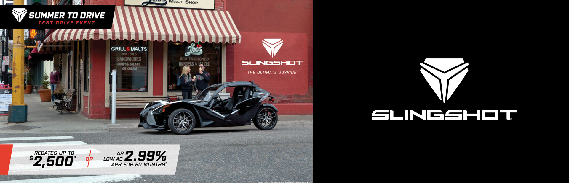 Slingshot: Summer to Drive Test Drive Event