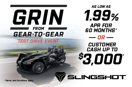 Grin from Gear to Gear Test Drive Event