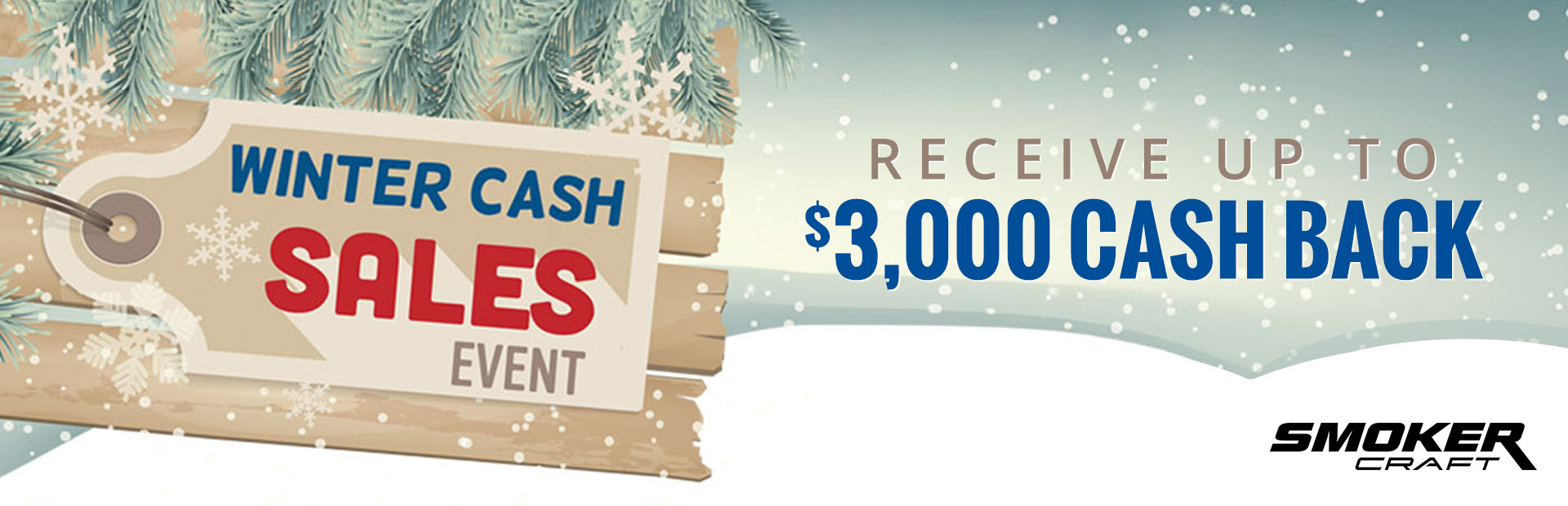 Smoker Craft: Winter Cash Sales Event