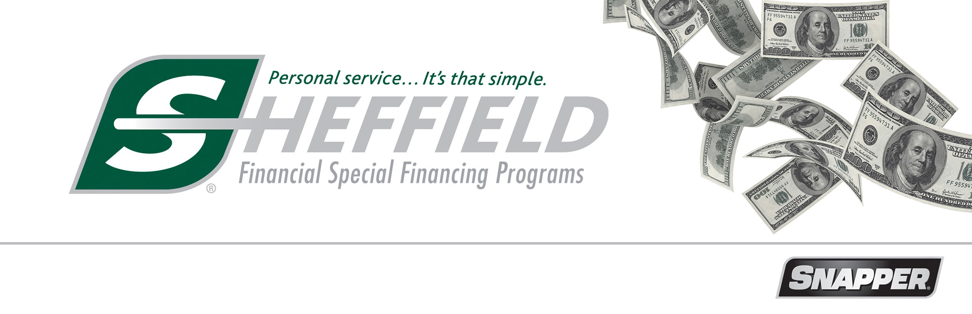 Snapper: Sheffield Financial Special Financing Programs