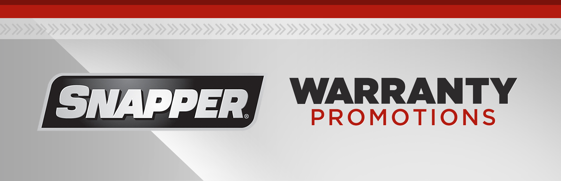 Snapper: Snapper Warranty Promotions