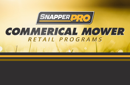 Commerical Mower Retail Programs