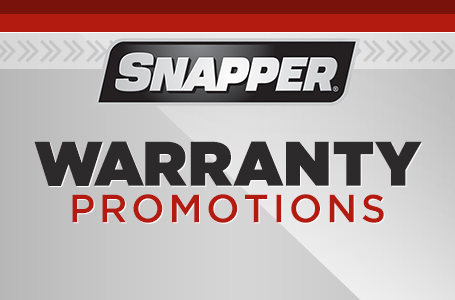 Snapper Warranty Promotions