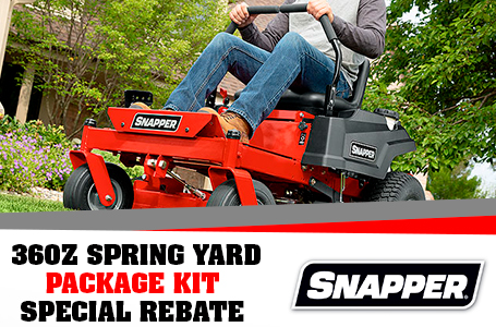 360Z SPRING YARD PACKAGE KIT SPECIAL REBATE