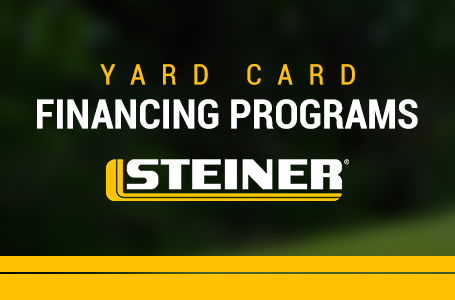 Steiner - Yard Card Financing Programs