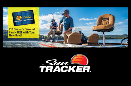 Bass Pro/Cabela's VIP Card w/ SUN TRACKER Purchase