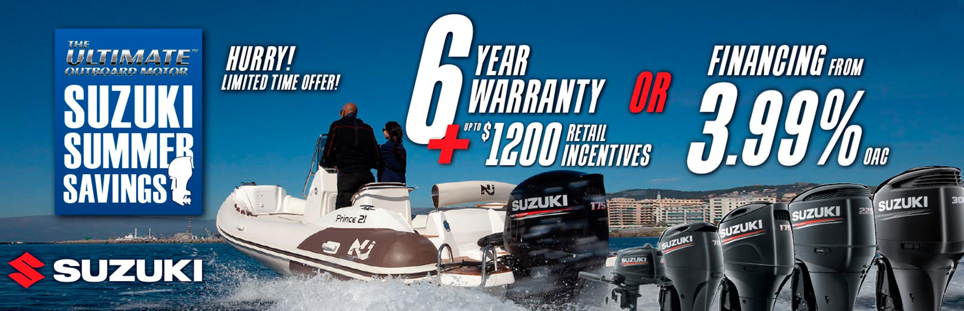 Suzuki: SUZUKI MARINE SUMMER SAVINGS