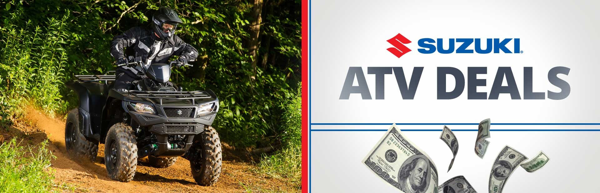 Suzuki: ATV Deals