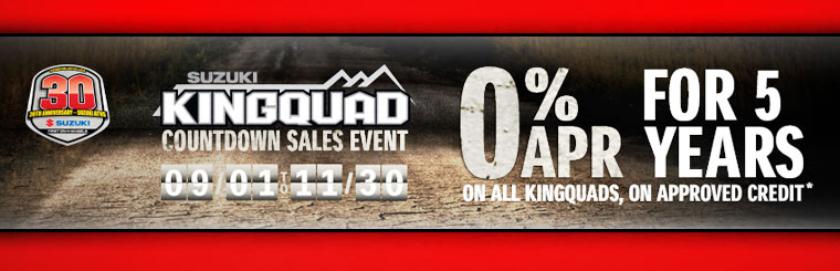 KINGQUAD Countdown Sales Event