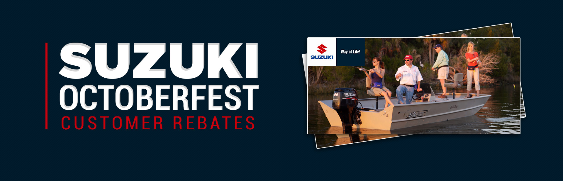 Suzuki: Suzuki Octoberfest Customer Rebates