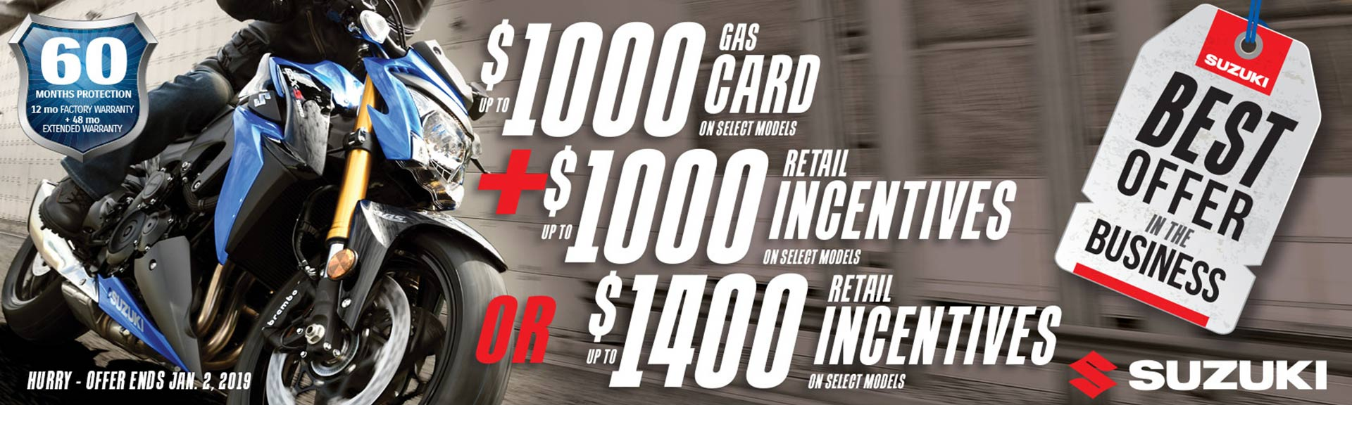 Suzuki: Suzuki Fuel the Ride Fall Savings - Motorcycle