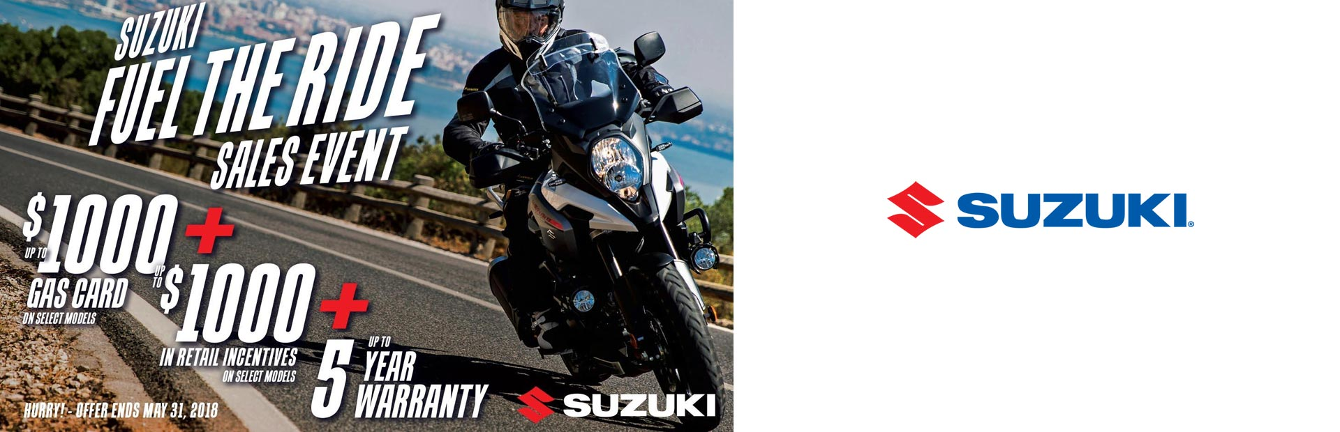 Suzuki: Suzuki Fuel the Ride Sales Event