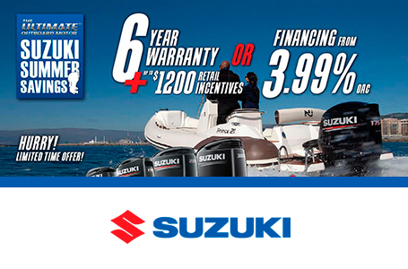 SUZUKI MARINE SUMMER SAVINGS
