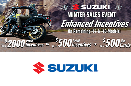 SUZUKI SHOW SEASON SALES EVENT - MOTORCYCLE