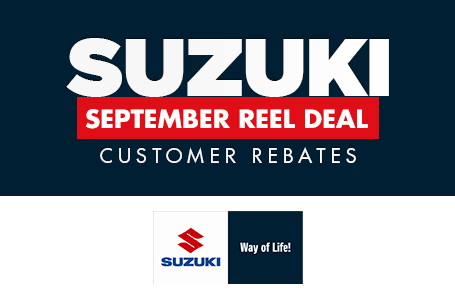 September Reel Deal Customer Rebates