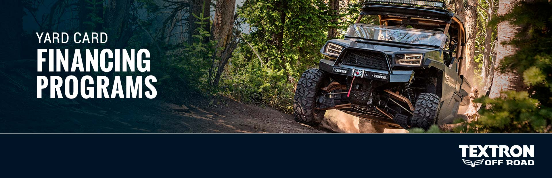 Textron Off Road: Textron Off Road – Yard Card Financing Programs