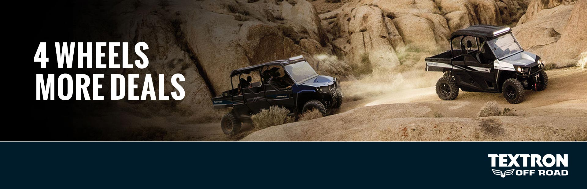 Textron Off Road: 4 Wheels More Deals