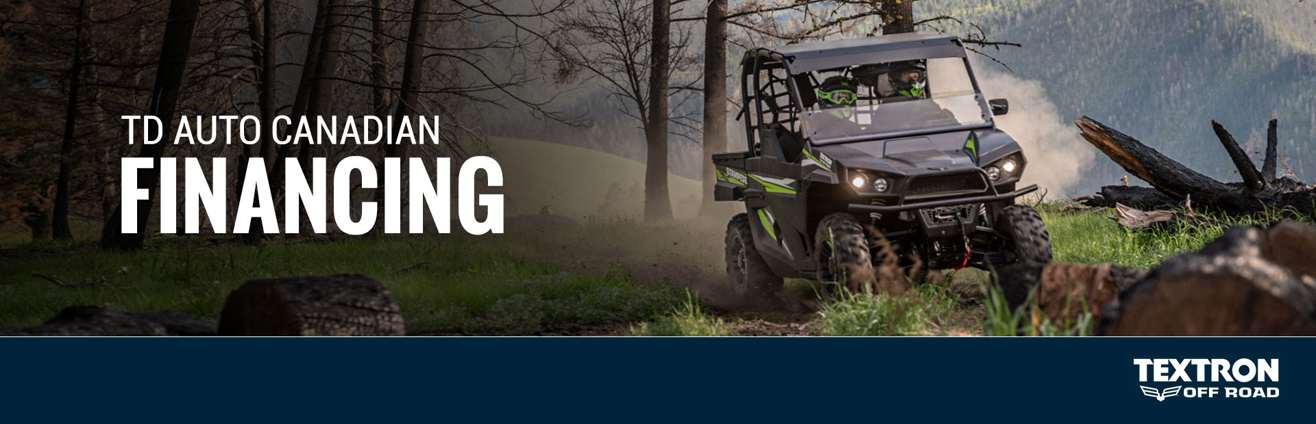 Textron Off Road: TD Auto Canadian Financing