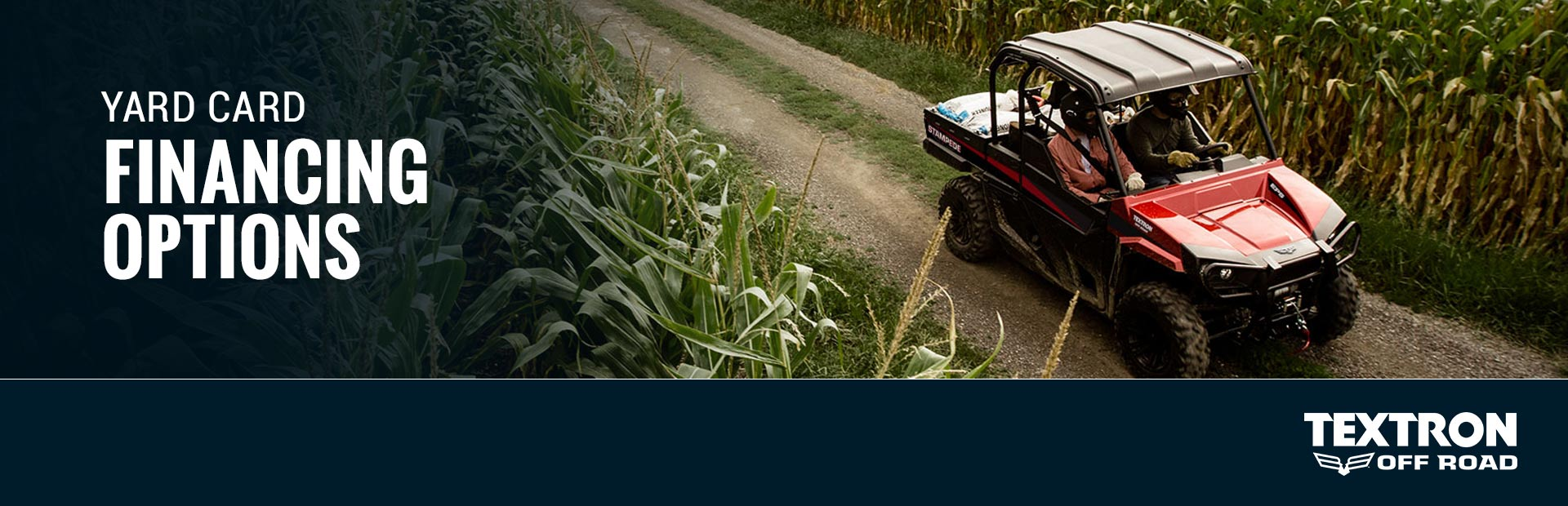 Textron Off Road: Yard Card Financing Programs