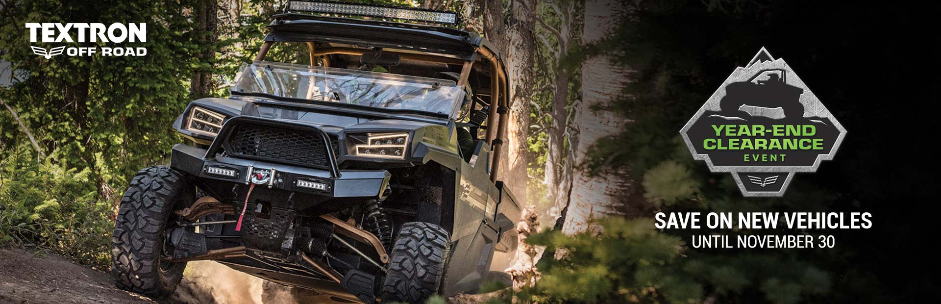 Textron Off Road: Year End Clearance