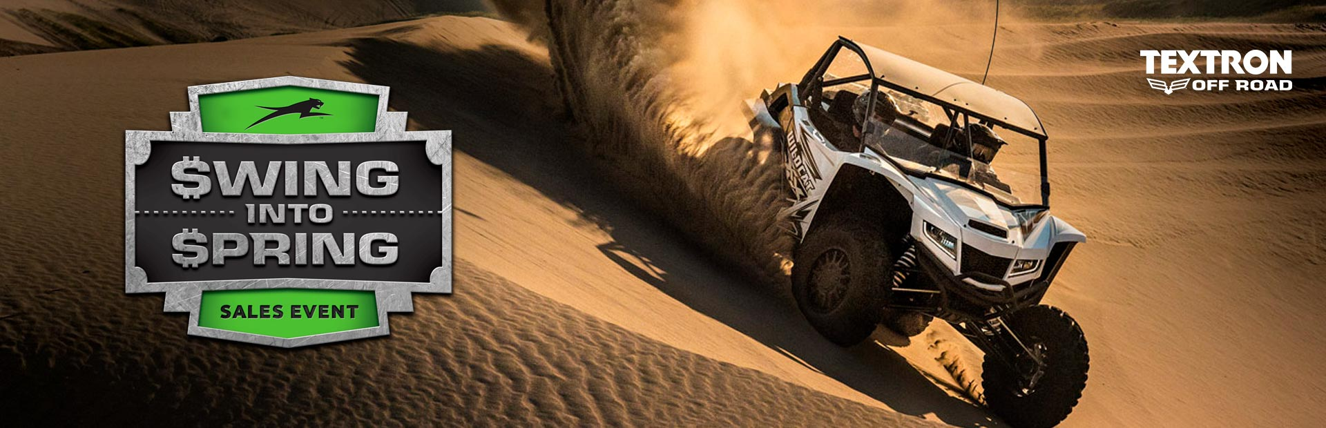 Textron Off Road: Swing Into Spring Sales Event